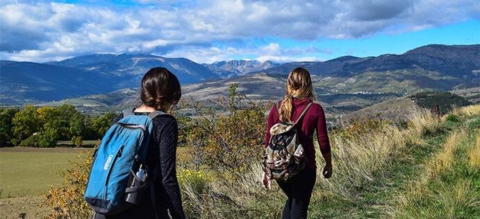 Etre étudiant à Plasticampus, c'est aussi avoir la chance de partir marcher quelques heures le week-end et découvrir des paysages magnifiques